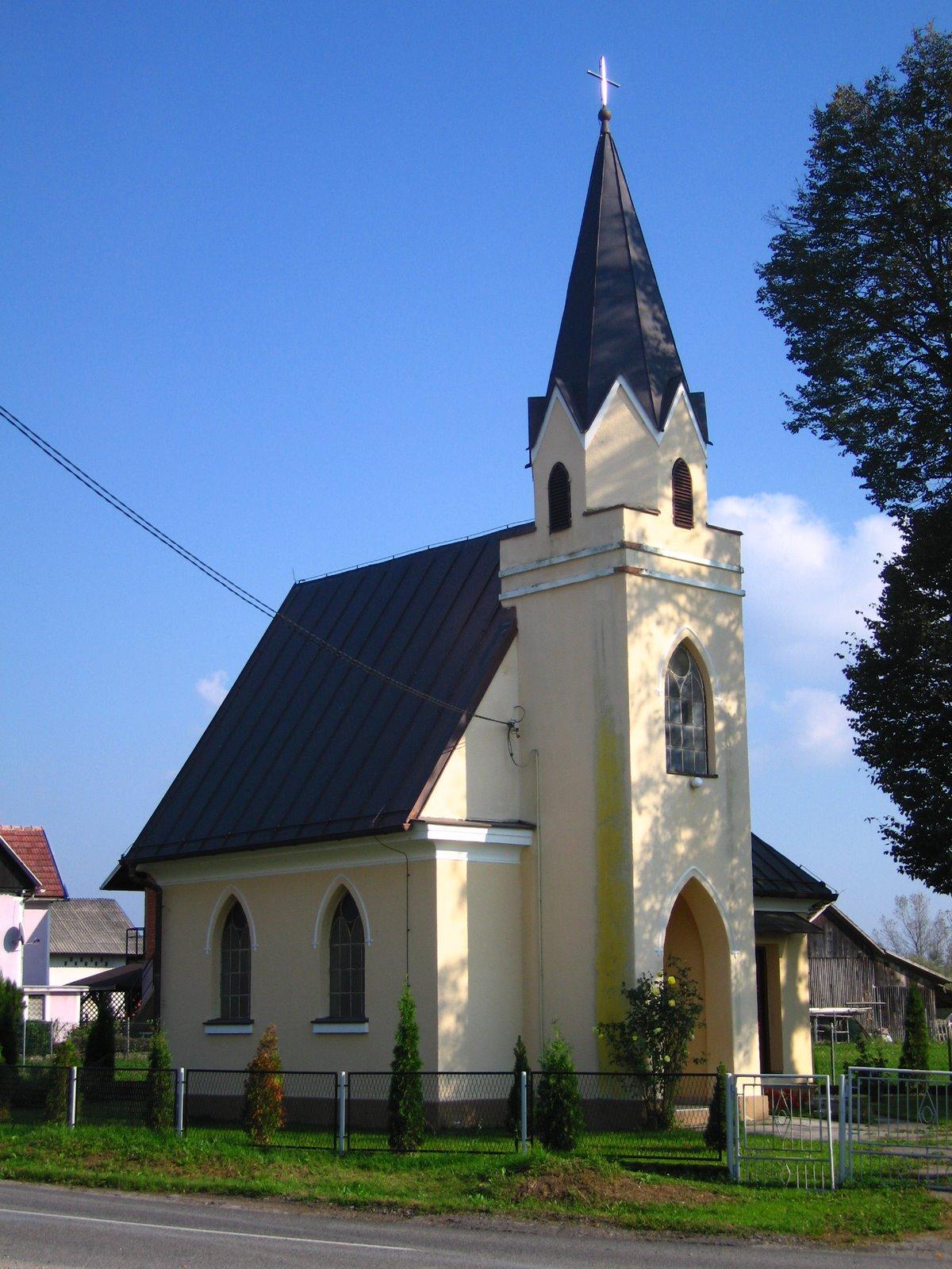 Kapela sv. Florijana u Zamršju.