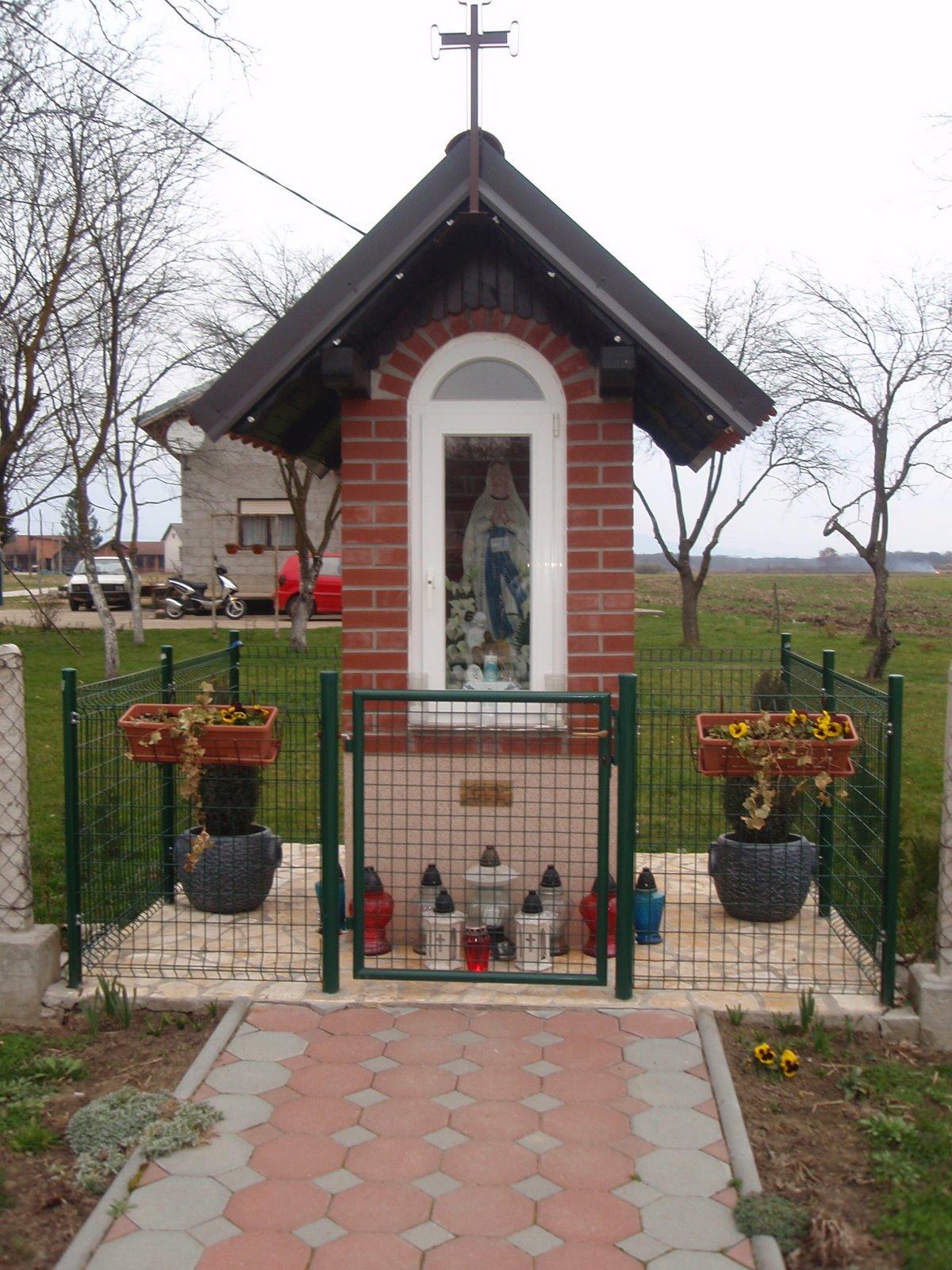 Kapelica Majke Božje u Luci Pokupskoj.